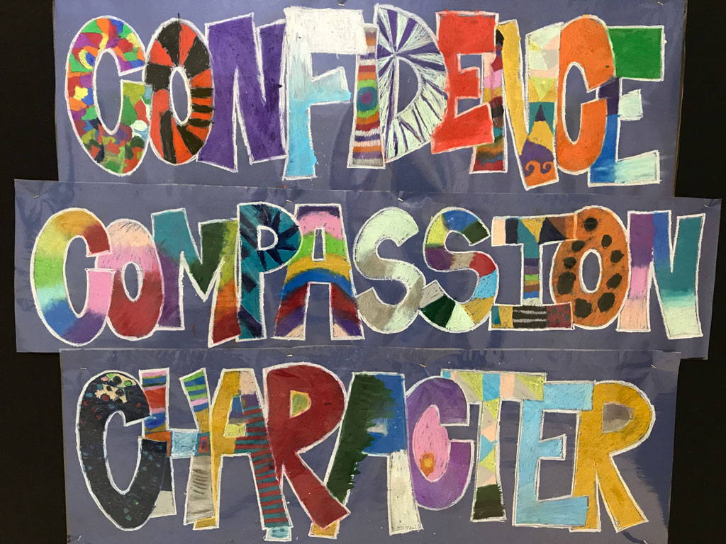 Confidence Character Compassion
